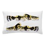 Piebald madtom catfish Pillow Case