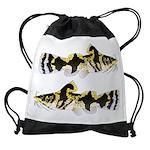 Piebald madtom catfish Drawstring Bag