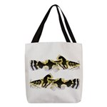 Piebald madtom catfish Polyester Tote Bag
