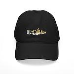 Piebald madtom catfish Baseball Hat