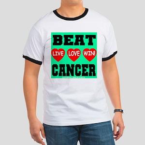 Beat Cancer! Live Love Win! Ringer T