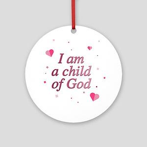 Child of God Ornament (Round)