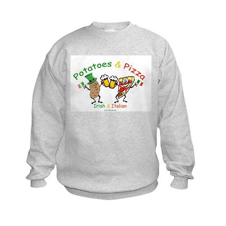Irish & Italian Kids Sweatshirt