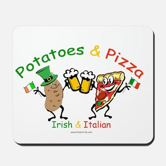Irish & Italian Mousepad