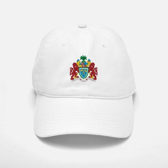 Gambia Coat Of Arms Baseball Baseball Cap