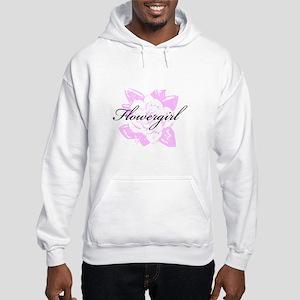 Fancy Formal Flower Girl Hooded Sweatshirt