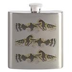 Piebald madtom catfish Flask