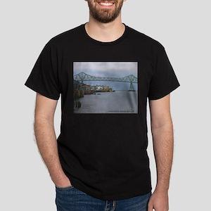 West Docks Black T-Shirt