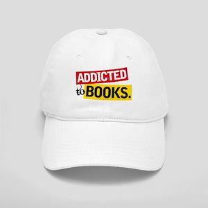 Funny Addicted To Books Cap