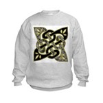 Celtic Dark Sigil Kids Sweatshirt