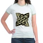 Celtic Dark Sigil Jr. Ringer T-Shirt