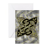 Celtic Dark Sigil Greeting Cards (Pk of 10)