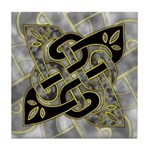 Celtic Dark Sigil Tile Coaster