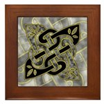Celtic Dark Sigil Framed Tile