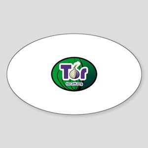Tor Oval Sticker
