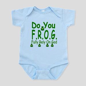 Do you F.R.O.G. Infant Bodysuit