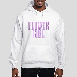 Flower Girl Niagara Engraved Hooded Sweatshirt