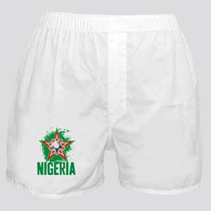 NIGERIA STAR Boxer Shorts