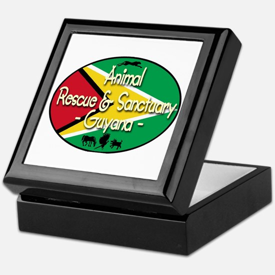 Animal Rescue & Sanctuary (Guyana) Keepsake Box