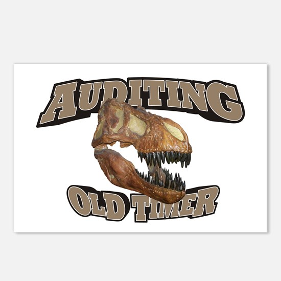 Auditing Old Timer Postcards (Package of 8)