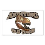 Auditing Old Timer Sticker (Rectangle)