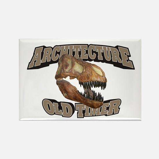 Architecture Old Timer Rectangle Magnet (10 pack)