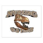 Nursing Old Timer Small Poster