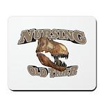Nursing Old Timer Mousepad