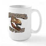 Nursing Old Timer Large Mug
