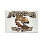 Nursing Old Timer Rectangle Magnet (10 pack)