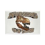 Nursing Old Timer Rectangle Magnet (100 pack)