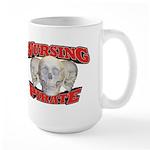 Nursing Pirate Large Mug