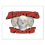 Auditing Pirate Small Poster