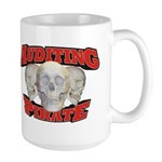 Auditing Pirate Large Mug