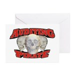 Auditing Pirate Greeting Cards (Pk of 10)