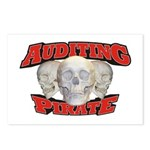 Auditing Pirate Postcards (Package of 8)