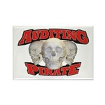 Auditing Pirate Rectangle Magnet (100 pack)