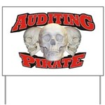 Auditing Pirate Yard Sign