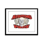 Auditing Pirate Framed Panel Print
