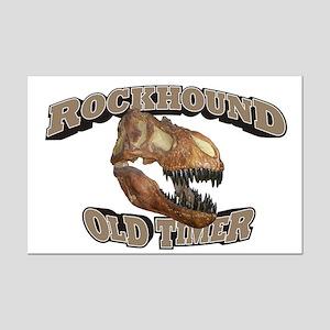 Rockhound Old Timer Mini Poster Print