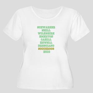 AUS STARS 2010 Women's Plus Size Scoop Neck T-Shir