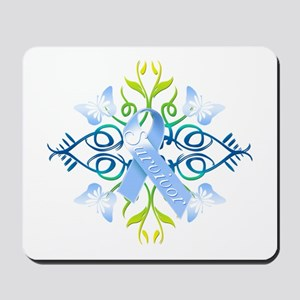 Blue Survivor Mousepad
