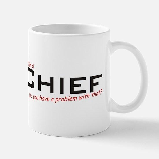 Chief/Problem! Mug