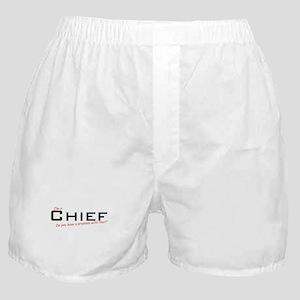 Chief/Problem! Boxer Shorts