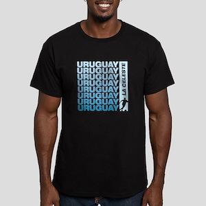 LA CELESTE Men's Fitted T-Shirt (dark)