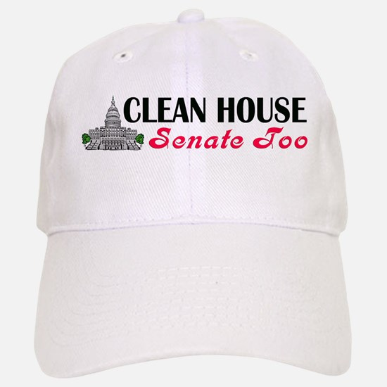 Clean House Baseball Baseball Cap