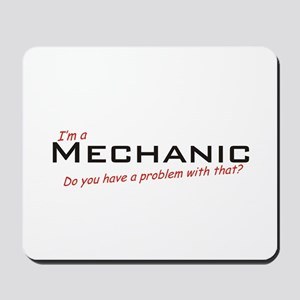 Mechanic /Problem! Mousepad