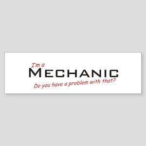 Mechanic /Problem! Sticker (Bumper)
