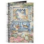 Kim Jacobs' Blue Garden Bench Journal