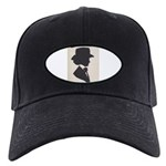 E.j. Perry Silhouette Black Cap With Patch